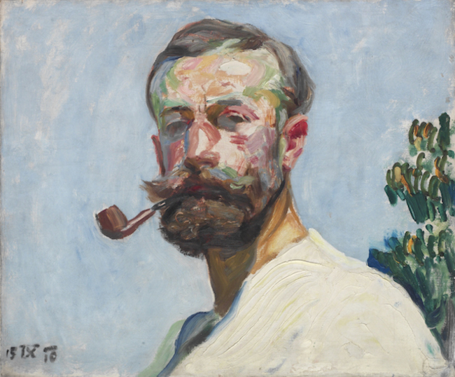 František Kupka: Self-Portrait (1910). Изображение © ADAGP, Paris.